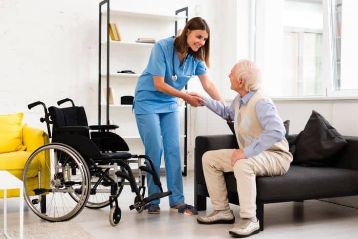 Nurse dating former patient