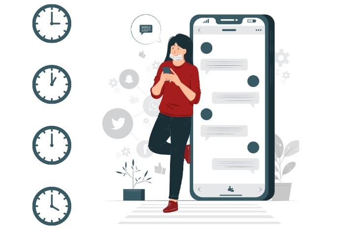24x7 Texting Habit