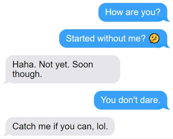 Less Emojis while Texting