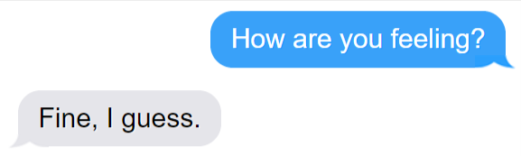 Simple Question Text