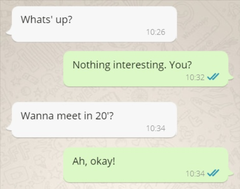 Spontaneous Text