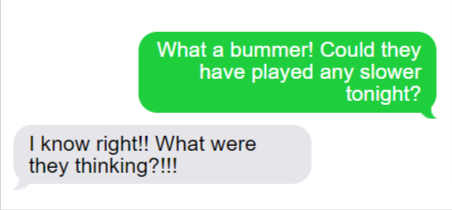 Sports Text