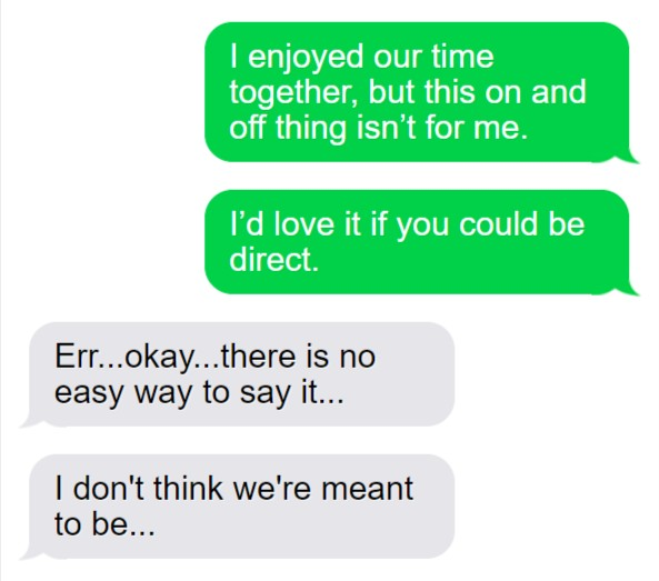 Text Asking To Be Direct 1