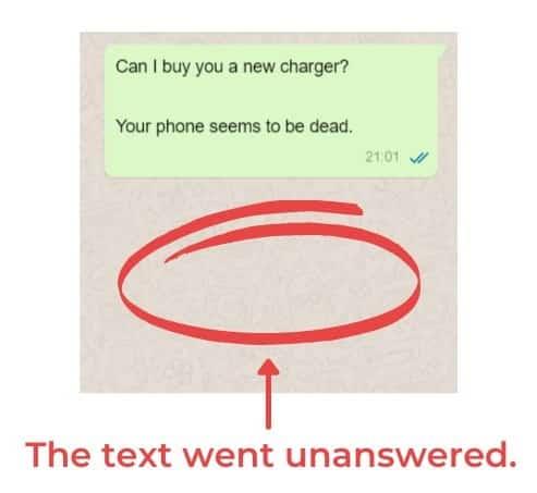 Unanswered Text 1