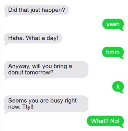 Vague Answer Texts